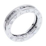 ビーゼロワンリング ダイヤモンド K18WG XSサイズ