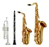 楽器高価買取<BR>。トランペット・サックス・クラリネットなどその他の楽器もご相談ください。