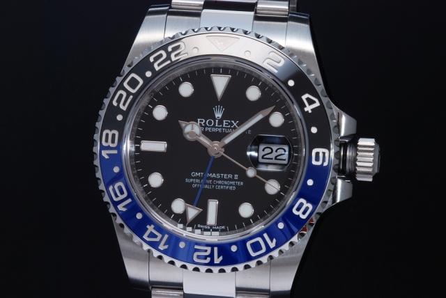 watch 22870 30bdd ロレックス 116710BLNR GMTマスター2 青黒 【正規品】