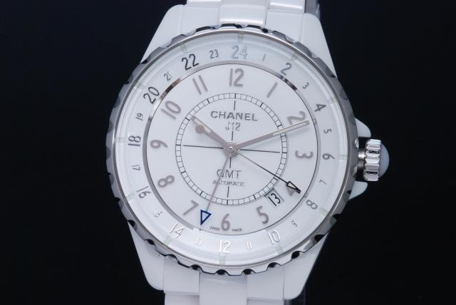77892c8c5e49 シャネル H3103 J12 GMT ホワイトハイテクセラミック メンズ オートマ 38mm 白文字盤【正規品】