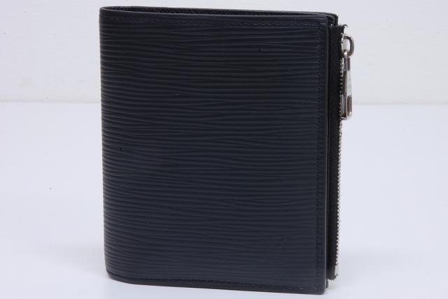 buy popular 06be5 4d858 ヴィトン エピ ポルトフォイユ スマート 二つ折財布 ノワール M64007