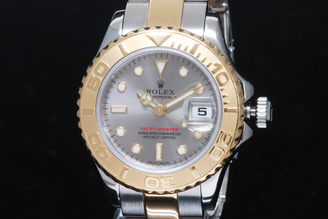buy popular ed05c b9b61 ロレックス 169623 ヨットマスター レディース SS/YG D番